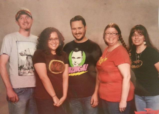 See the McCheesy grins we all have...yup.  Nerd dreams come true