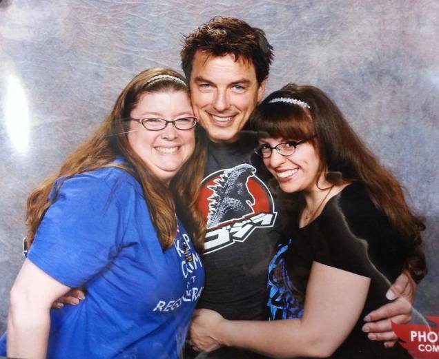 The love shines here in our Barrowman sandwich.  Where are my fries?