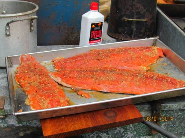 Holy slabs of salmon Batman!