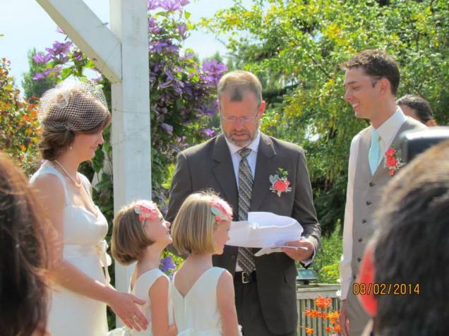 Vows with the twins...sniff sniff