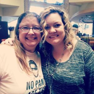 Me and Colleen Hoover...scary creeper smile included