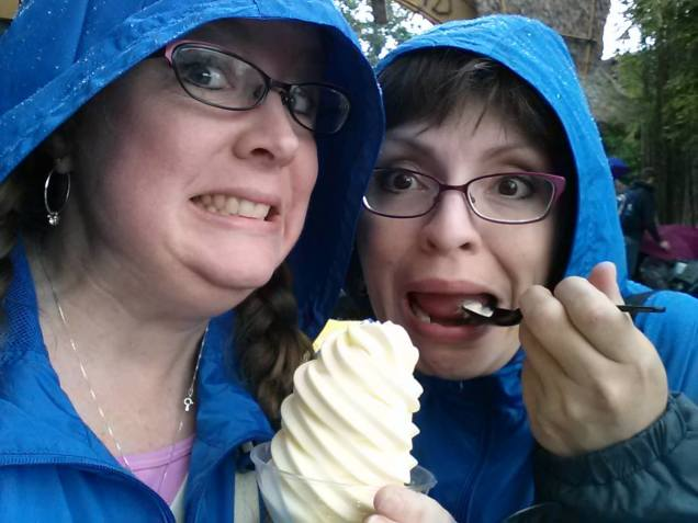 Dole Whip is a must even in the rain!